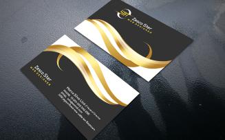 Modern Luxurious Business Card so-99