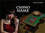 Casino Flash Intro  Template 18912