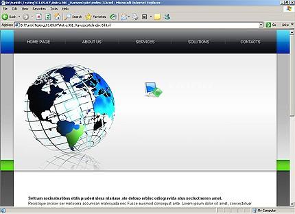 Website template 18930
