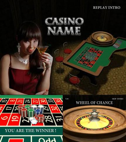 Online Casino Flash Intro Template FLASH INTRO SCREENSHOT