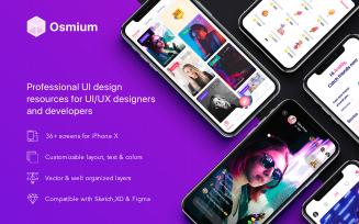 Osmium Mobile Kit UI Elements