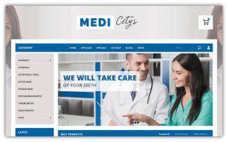 Medicitys - Medical Store Opencart Theme