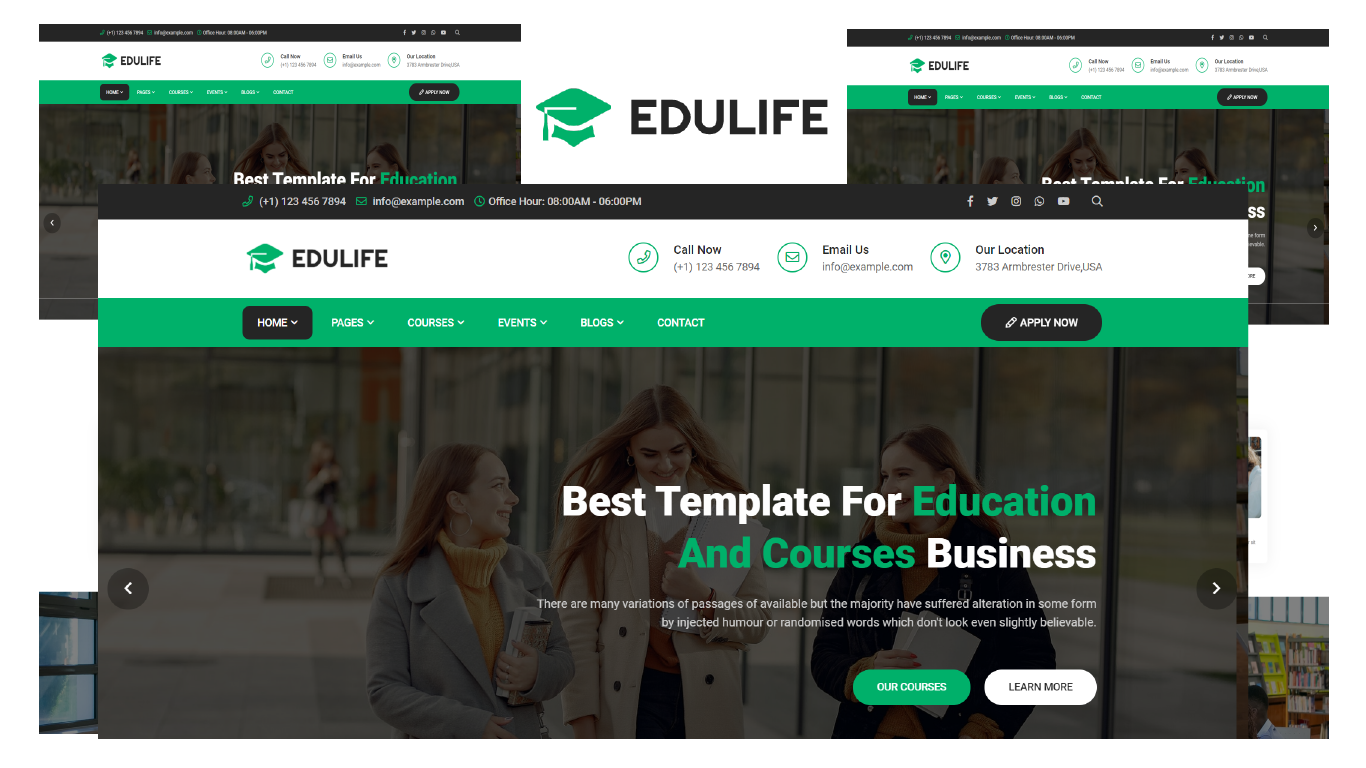 Edulife - Education & Courses Bootstrap 5 HTML5 Template