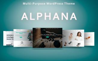 Alphana - Multi-Purpose WordPress Theme