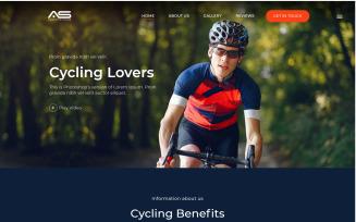 Shuvo   Cycling HTML5 Landing Page Template