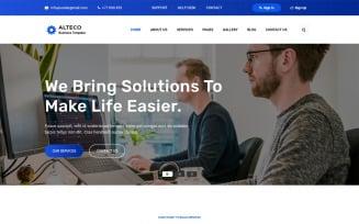 Alteco - Responsive Corporate & Business Website template