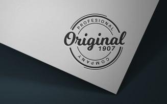 Logo on White Paper - Mockup Template, Graphics Mockup