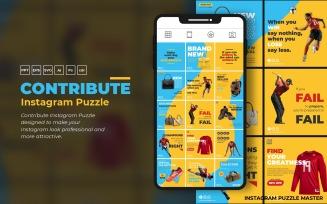 Contribute Instagram Puzzle Social Media