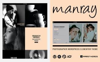 MANRAY - Photographer WordPress Theme