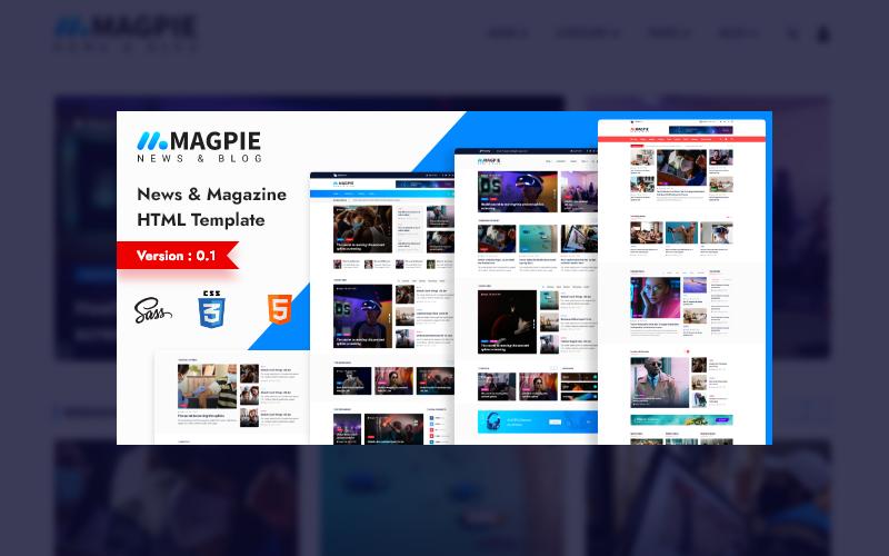 Magpie - News Magazine Html Template