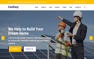 Company - Construction Company & Business Bootstrap5 HTML5 Template