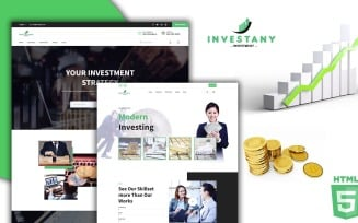 Investany Professional Financial Investment HTML5 Template