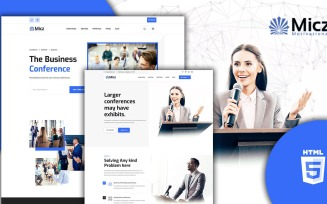 Micz Responsive Conference and Events HTML5 Template