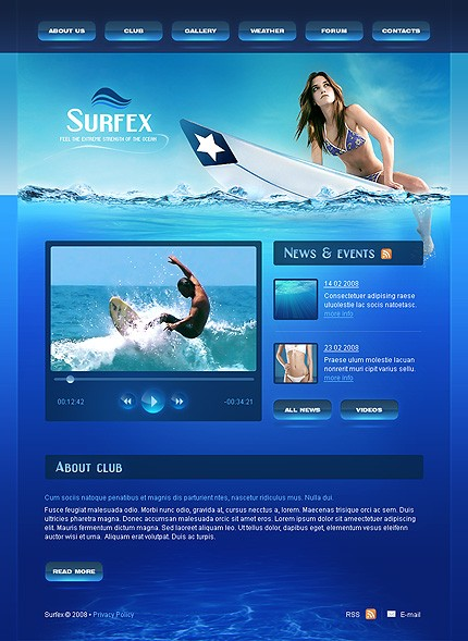 Web Design Ieftin surfing