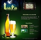 Flash: Flash Site Cafe and Restaurant Flash 8 Brewery Templates