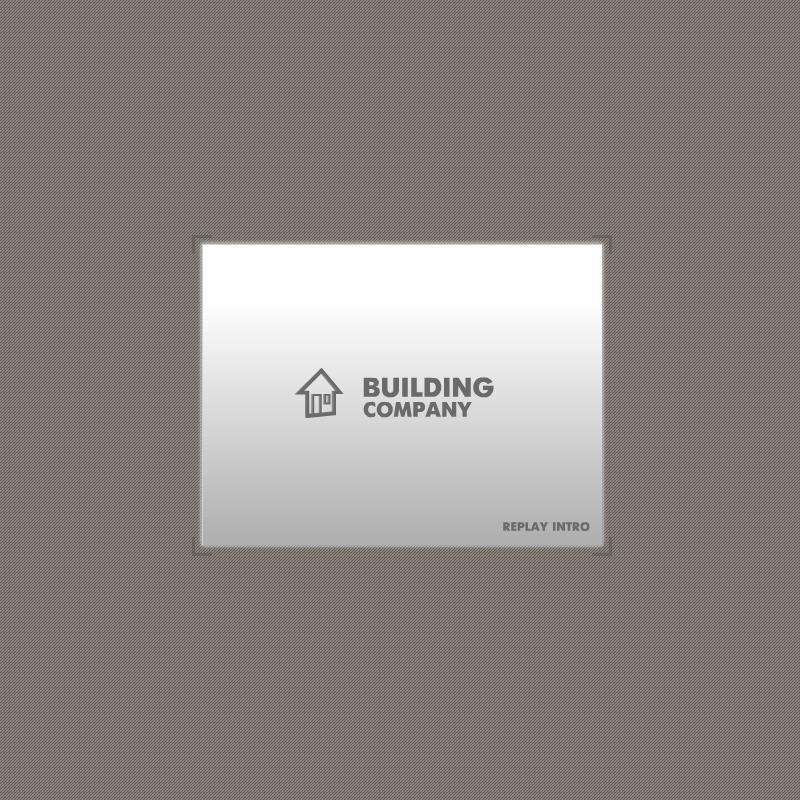 Flash ролик №19099 на тему строительные компании - скриншот