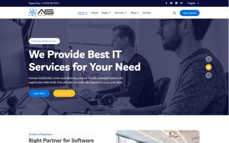 Biju - Technology Services HTML Website template