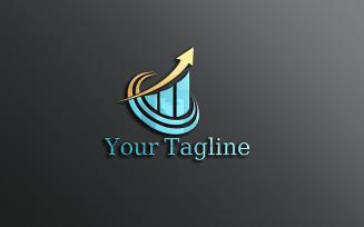 Financial Creative Logo Design Template