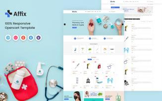 Affix - Medical OpenCart Template