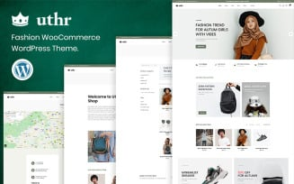 Uthr - Fashion FREE WooCommerce Theme