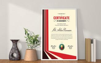 Attractive Certificate Of Achievement