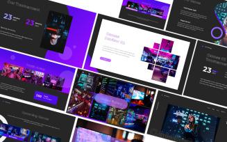 Gaming Google Slides Template