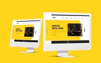 Ela   Architect Studio HTML5 Landing Page Template