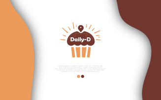 Delivery Service Baked Premium Logo