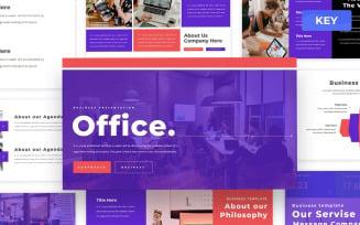 Office - Business Keynote Presentation Template