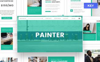 Painter - Business Keynote Presentation Template