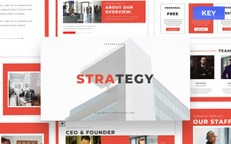 Strategy - Business Keynote Presentation Template
