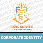 Real Estate Corporate Identity Template 19107