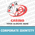 Casino Corporate Identity Template 19109