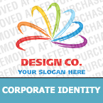 Web design Corporate Identity Template 19111