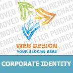 Web design Corporate Identity Template 19115