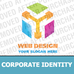 Web design Corporate Identity Template 19119