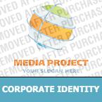 Media Corporate Identity Template 19121