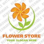 Flowers Logo  Template 19156
