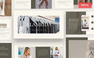 Alameida - Powerpoint Presentation Template