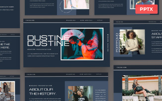 Dustine - Powerpoint Presentation Template