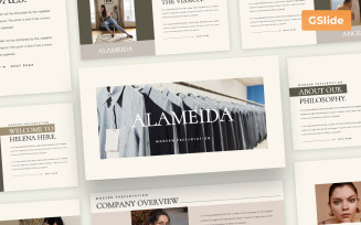 Alameida - Google Slide Presentation Template