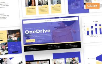 Onedrive - Business Gslide Presentation Google Slides Template