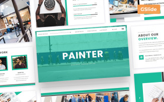 Painter - Business Google Slides Presentation Template