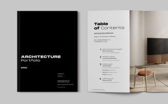 Architecturral Brochure Portfolio Magazine Templates