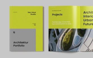 Creative Architecture Brochure Portfolio Magazine Templates