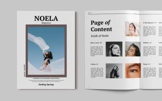 Fashion Magazine Template - Noela