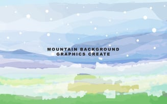Mountain Background Template