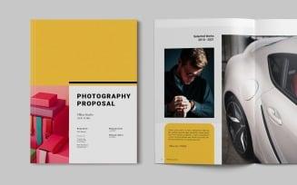 Photography Proposal Magazine Templates