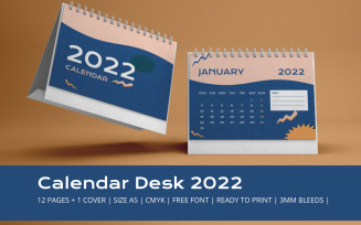 90s Calendar 2022 Theme Planner Template