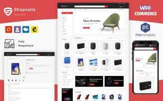 Shopnetix - Multipurpose eCommerce WordPress Template